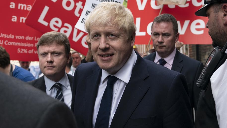 Boris Johnson /PAP/EPA