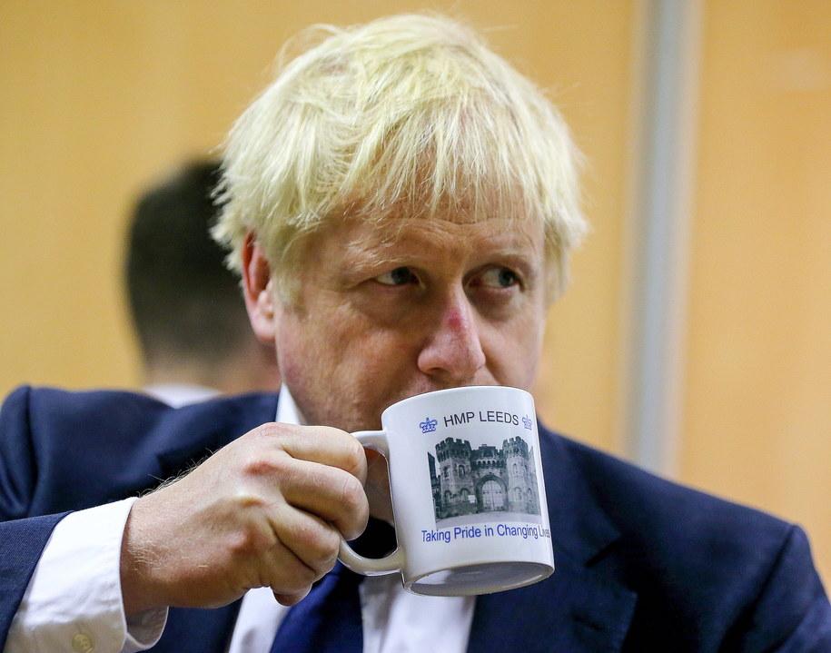 Boris Johnson /Nigel Roddis /PAP/EPA