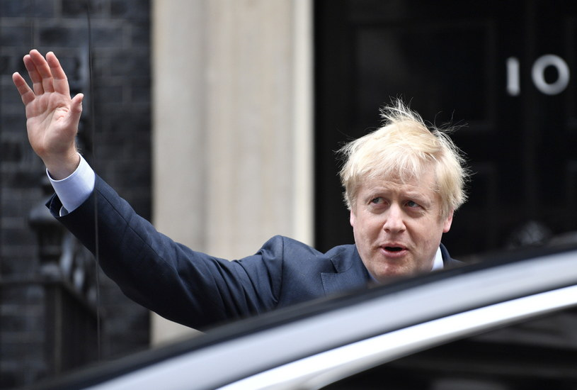 Boris Johnson /NEIL HALL /PAP/EPA