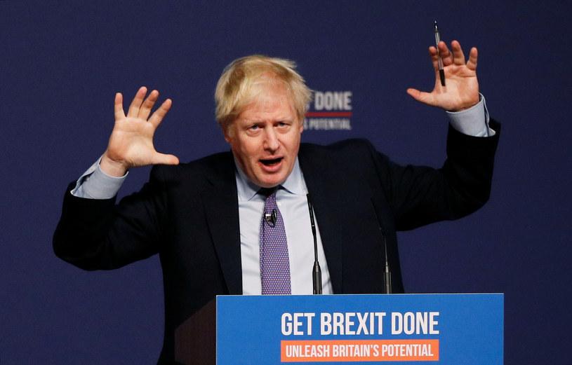 Boris Johnson /Phil Noble/Reuters /Agencja FORUM
