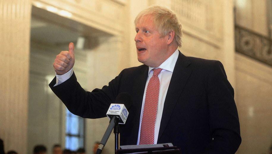 Boris Johnson /MARK MARLOW  /PAP/EPA