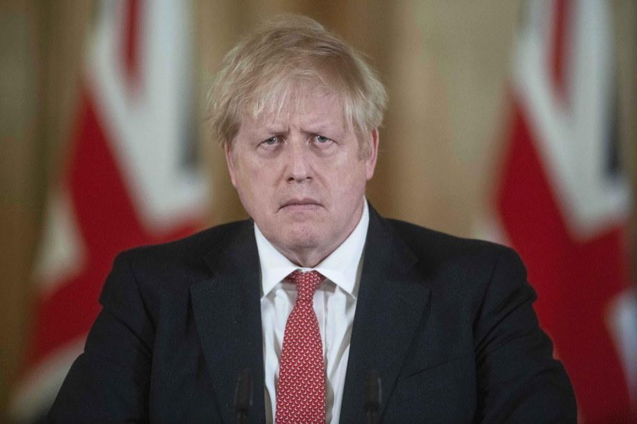Boris Johnson /Julian Simmonds  /PAP/EPA