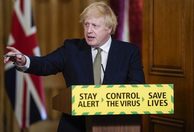 Boris Johnson /PAP/EPA/ANDREW PARSONS/DOWNING STREET HANDOUT /PAP/EPA