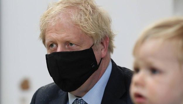 Boris Johnson /Andrew Milligan    /PAP/EPA