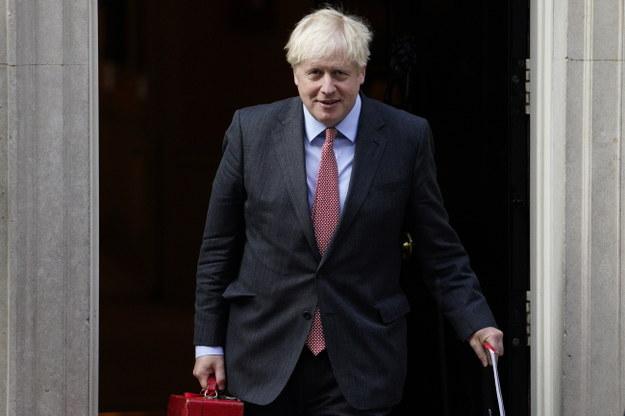 Boris Johnson /WILL OLIVER  /PAP/EPA