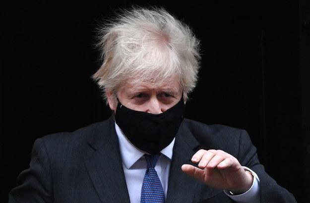 Boris Johnson / ANDY RAIN    /PAP/EPA