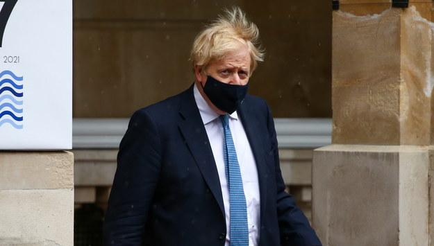 Boris Johnson /HOLLIE ADAMS / POOL /PAP/EPA