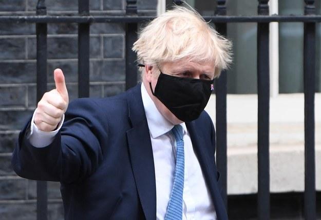 Boris Johnson / NEIL HALL /PAP/EPA