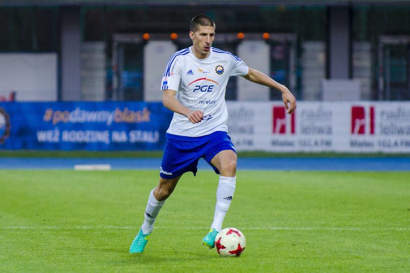 Boris Milekić do Stali trafił zimą z FK Proleter Nowy Sad /Karol Słomka /Newspix