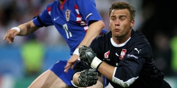 Boruc robił co mógł w meczu z Chorwacją /AFP