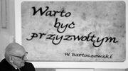 Borusewicz: Bartoszewski był otwarty na poglądy innych ludzi