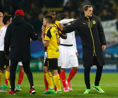 Borussia - AS Monaco 2-3. Ostre słowa Tuchela i Sokratisa
