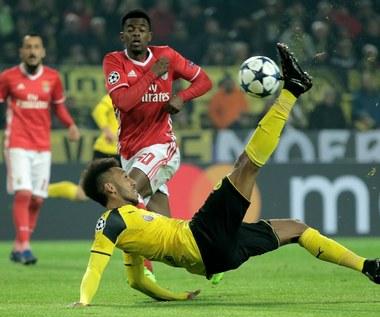 Borussia - Benfica 4-0 w Lidze Mistrzów. Asysta Piszczka, hat-trick Aubameyanga