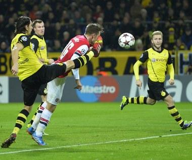 Borussia Dortmund - Arsenal Londyn 0-1 w Lidze Mistrzów