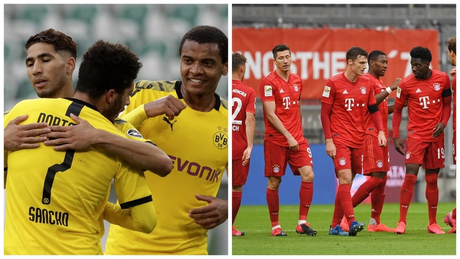 Borussia Dortmund - Bayern Monachium /Michael Sohn/Andreas Gebert /PAP/EPA