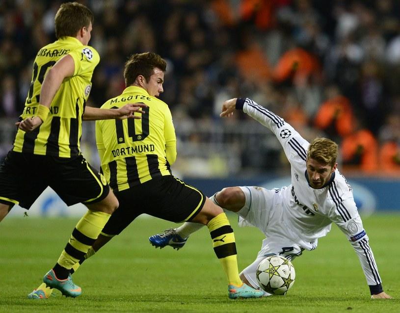 Borussia już ograła Real w tej edycji Ligi Mistrzów /AFP