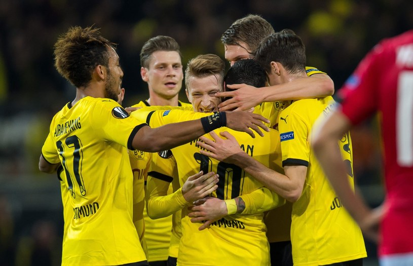 Borussia łatwo pokonała FK Qabala /PAP/EPA