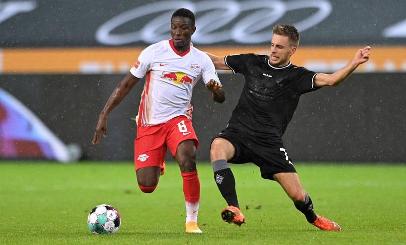 Borussia Moenchengladbach - RB Lipsk /Sascha Steinach /PAP/EPA