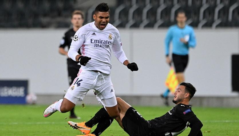 Borussia Moenchengladbach - Real Madryt 2-2 w 2. kolejce fazy grupowej Ligi Mistrzów