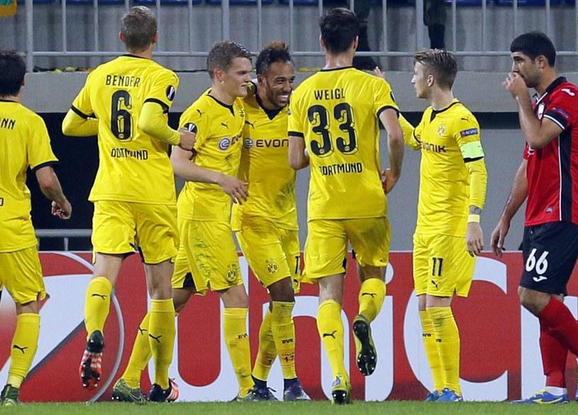 Borussia nie miała większych problemów z pokonaniem FK Qabala /PAP/EPA