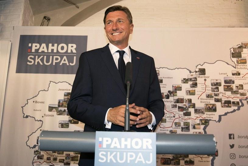 Borut Pahor /IGOR KUPLJENIK /PAP/EPA