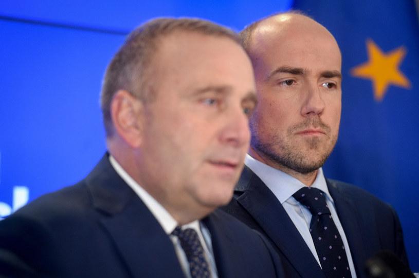 Borys Budka i Grzegorz Schetyna /Zbyszek Kaczmarek /Reporter