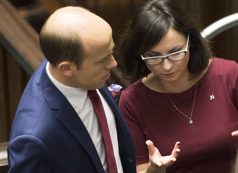 Borys Budka i Kamila Gasiuk-Pihowicz /- /East News