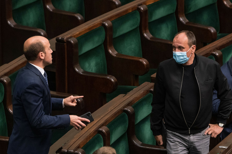 Borys Budka i Paweł Kukiz /Jacek Domiński /Reporter