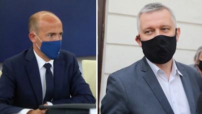 Borys Budka i Tomasz Siemoniak /fot. Rafał Guz i Tomasz Gzell /PAP