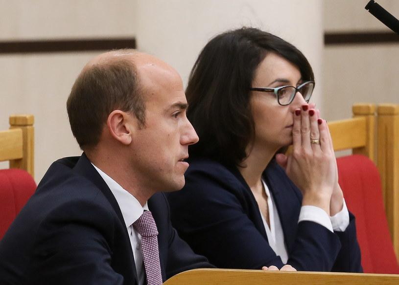 Borys Budka, Kamila Gasiuk-Pihowicz /Paweł Supernak /PAP
