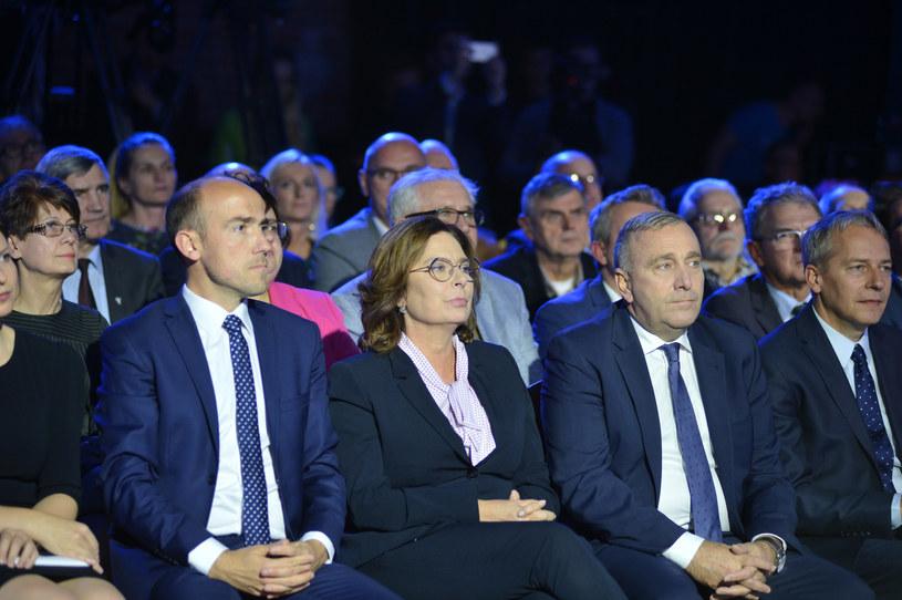 Borys Budka, Małgorzata Kidawa-Błońska i Grzegorz Schetyna /LUKASZ KALINOWSKI /East News