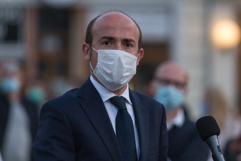 Borys Budka: To najbardziej skompromitowani ludzie tej władzy /Dominik Gajda /Reporter