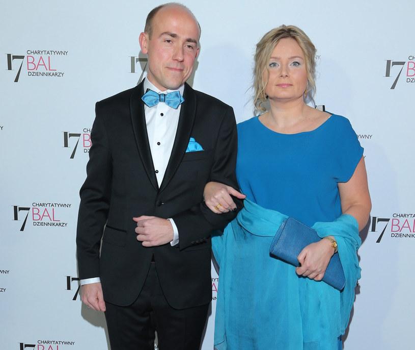 Borys Budka z żoną /Kamil Piklikieiwcz /East News