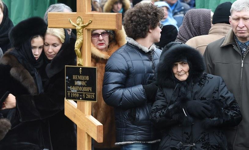 Borys Niemcow został zamordowany 27 lutego w Moskwie /AFP