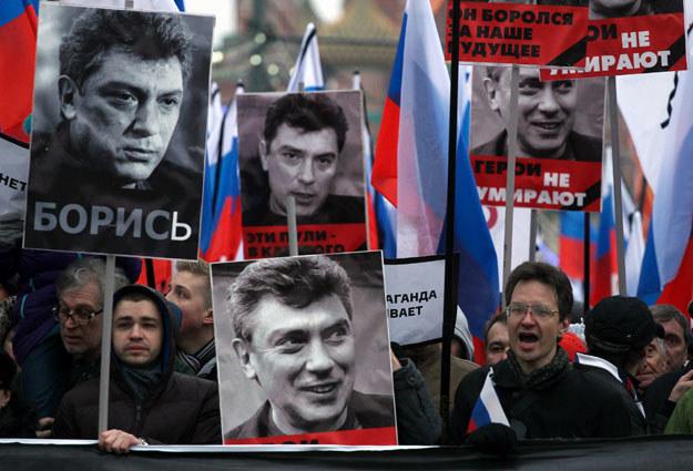Borys Niemcow został zamordowany tuż pod murami Kremla fot. Sergei Gapon /AFP