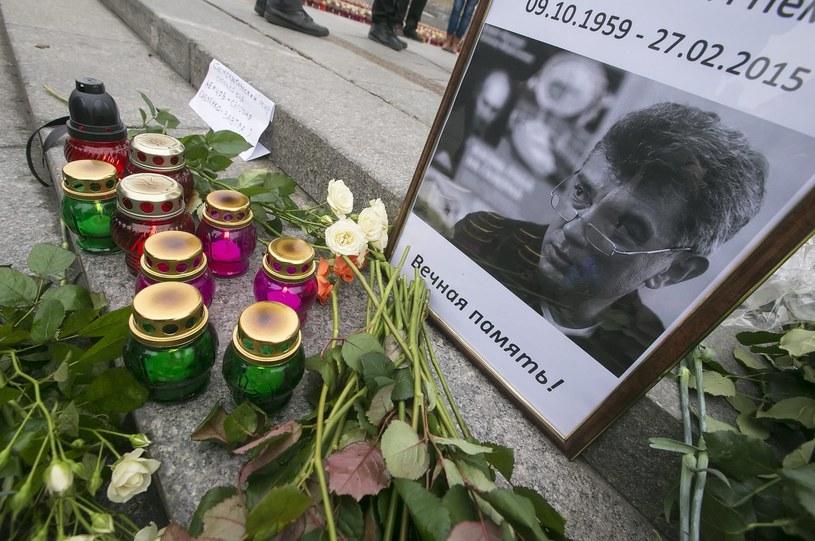 Borys Niemcow został zamordowany u stóp Kremla /AFP