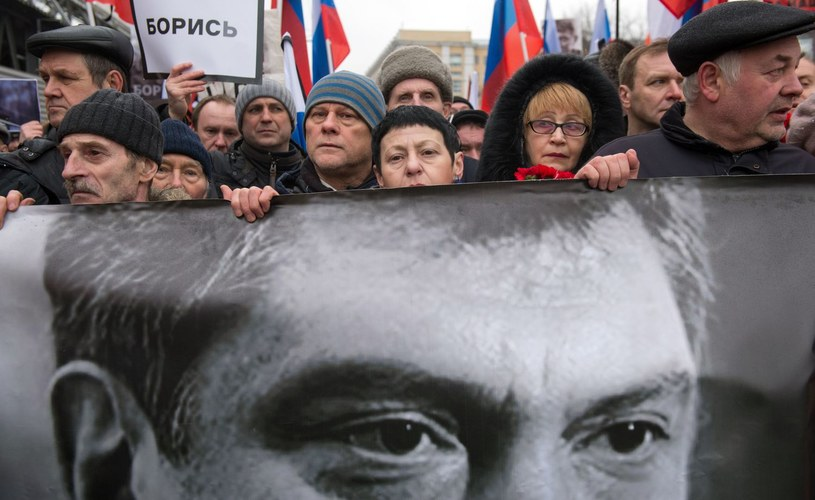 Borys Niemcow został zamordowany w centrum Moskwy /AFP