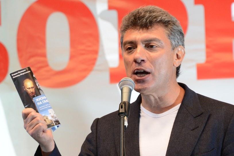 Borys Niemcow został zastrzelony w lutym 2015 roku w centrum Moskwy /Kirill Kudryavtsev /AFP