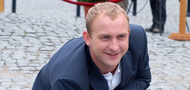 Borys Szyc, fot. Andrzej Szilagyi  /MWMedia