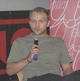 Borys Szyc, fot. INTERIA.PL /INTERIA.PL