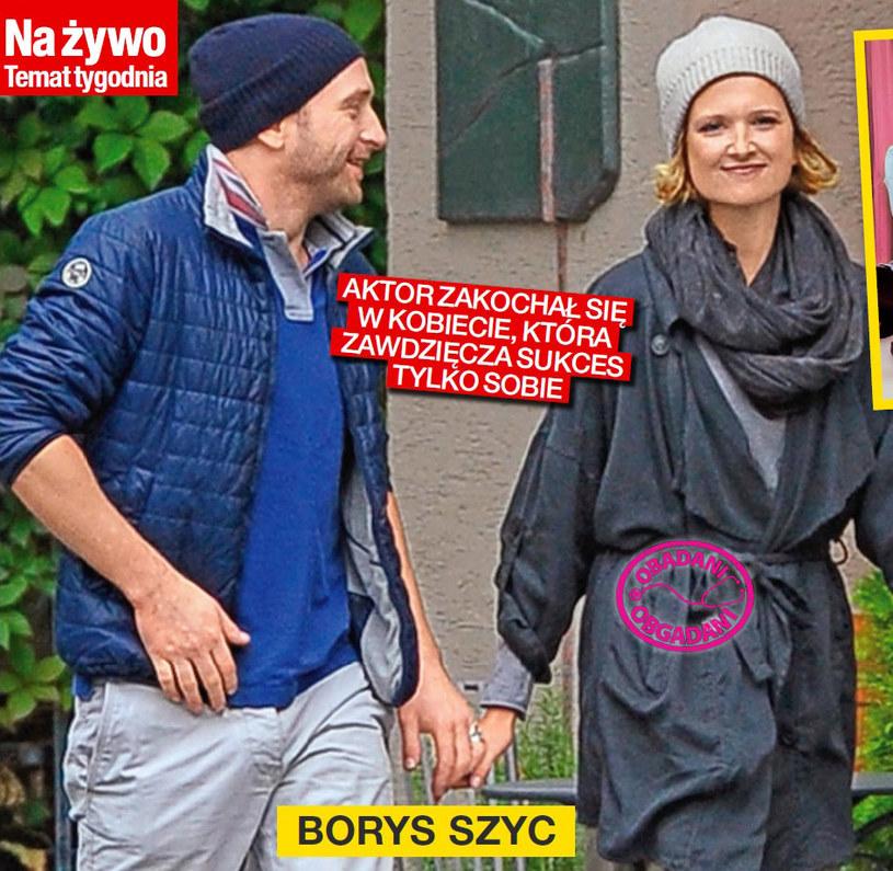 Borys Szyc i Justyna Jeger-Nagłowska /Na żywo