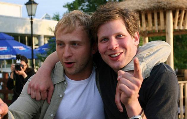 Borys Szyc i Łukasz Garlicki, fot. Warda  /AKPA