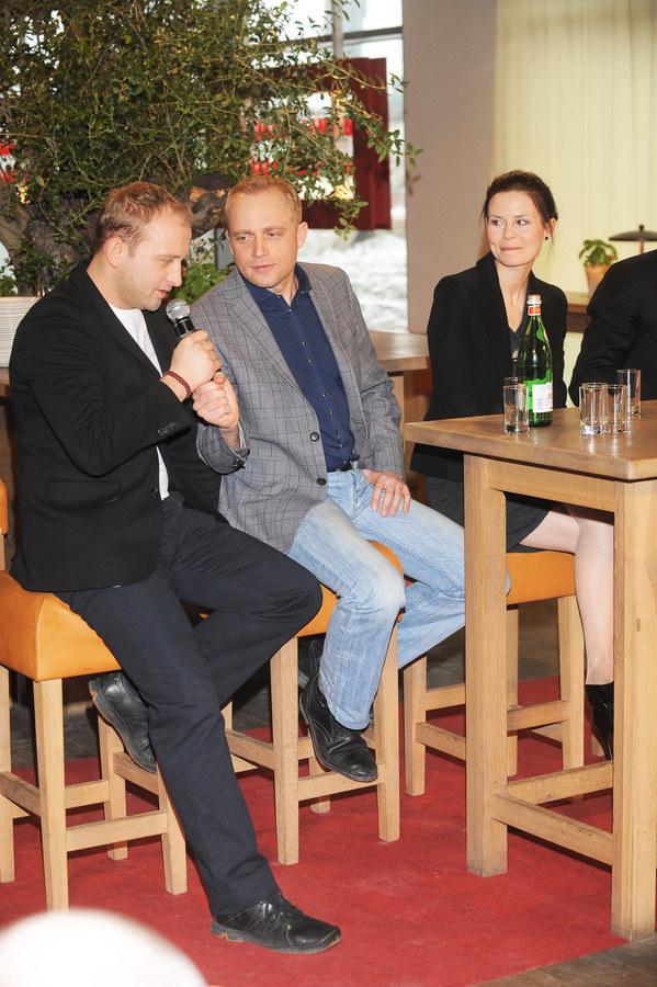 Borys Szyc i Piotr Adamczyk /Niemiec /AKPA