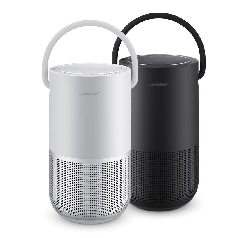 Bose Portable Smart Speaker dostępny jest w dwóch wariantach kolorystycznych: srebrnym i czarnym /materiały prasowe