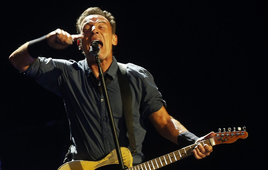 Boss jest tylko jeden. Tu na koncercie w Chile we wrześniu 2013 roku /Felipe Trueba /PAP/EPA