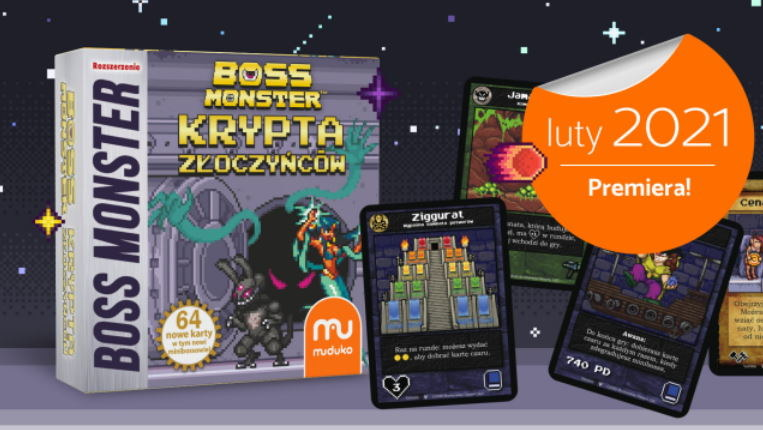 Boss Monster Krypta Złoczyńców /materiały prasowe