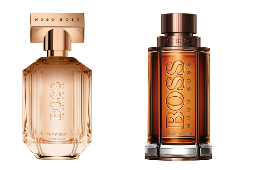 Boss The Scent Private Accord For Him i For Her /materiały prasowe