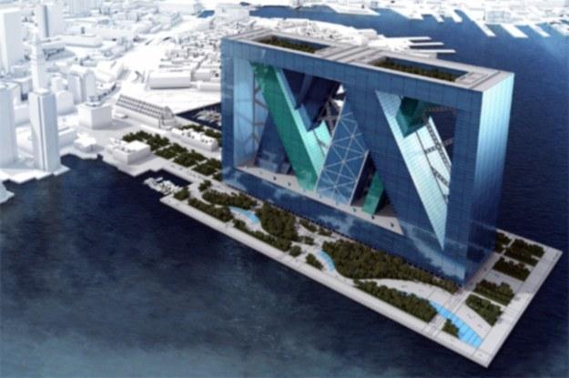Boston Arcology to miasto pływające w Zatoce Bostońskiej (Fot. Yanko Design) /Internet