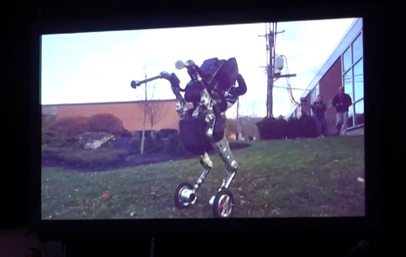 Boston Dynamics należy do spółki Alphabet powołanej przez Google /YouTube