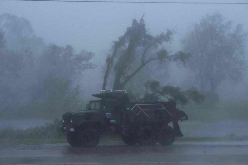 Bourg w Luizjanie jeszcze przed nadejściem huraganu Ida /AFP